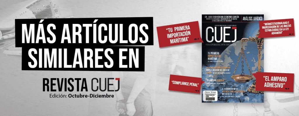 Revista CUEJ OCtubre Diciembre